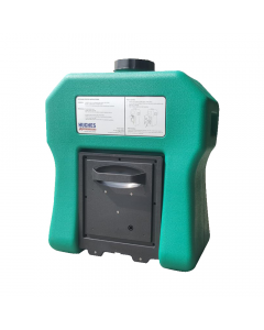 Portable self-contained gravity fed eye wash - 16 US gallon