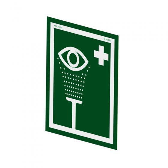 Eye wash sign