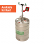 Portable self-contained pressurized eye wash - 15 US gallon