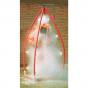Multi nozzle portable decontamination shower